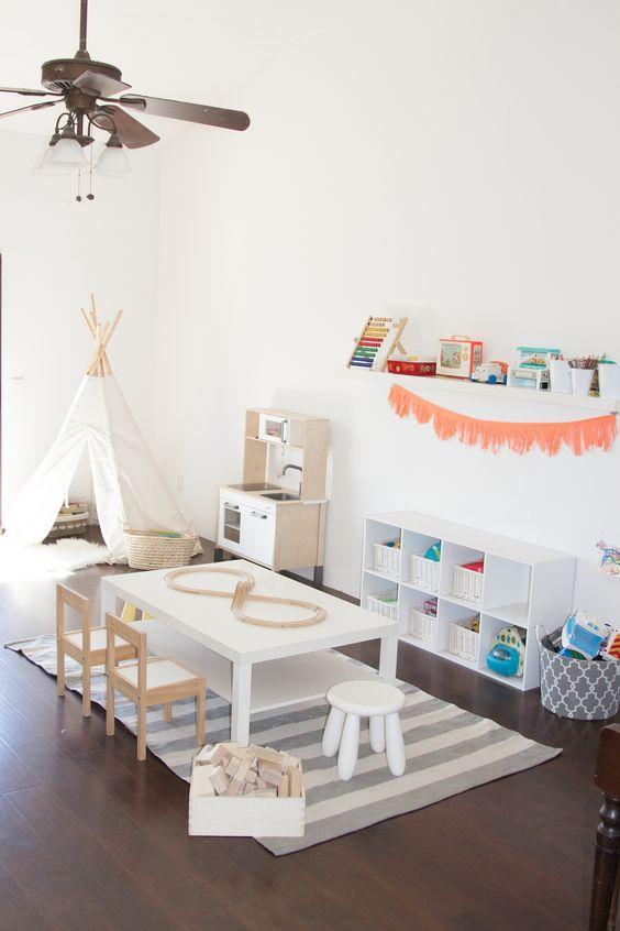 35 inspirações para montar uma brinquedoteca em casa! - Just Real Moms - Blog para Mães: