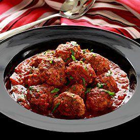 Paleo Italian Meatballs in Marinara Sauce: