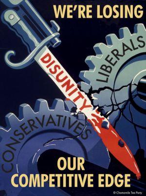 WWII propaganda poster