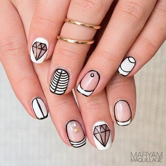 V-Day Nail Art