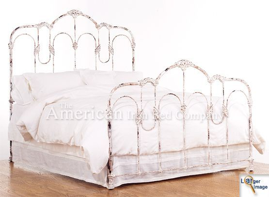 Iron Bed Frames, Wrought Iron And Metals On Pinterest