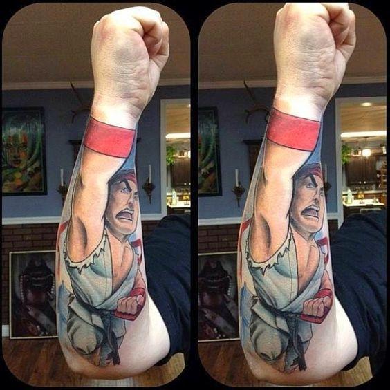 As duas tatuagens mais criativas do mundo: