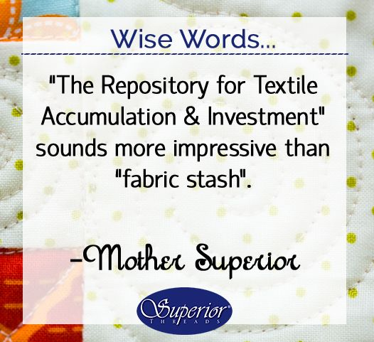 My fabric stash keeps me alive! #quilting #sewing #apparel #fabric: