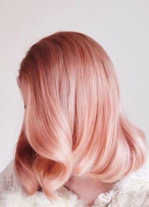 Ombre rose gold hairstyles!