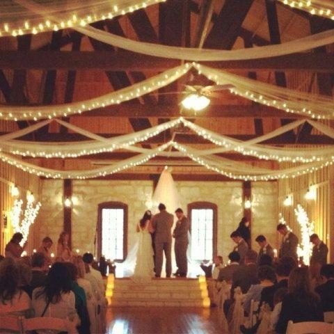 Teardrop Style Romantic Handmade Wedding Ceremony Lighted