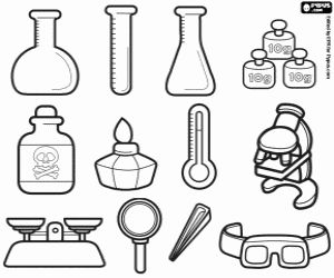 the laboratory equipment necessary to realise the experiments