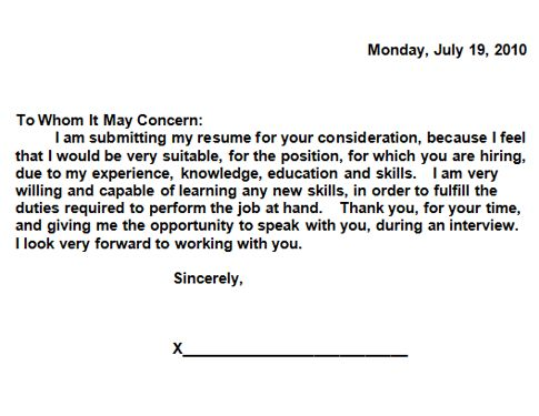 write a cover letter for resume writing resume cover letter how to