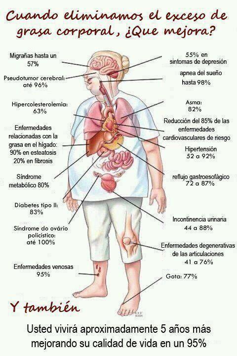 Eliminar grasa corporal beneficios