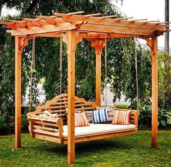 I could actually do this to my arbor. hummmm: