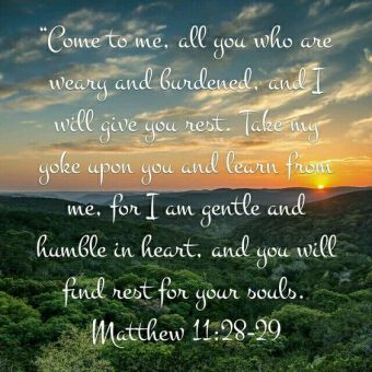 Image result for matthew 11:28-29
