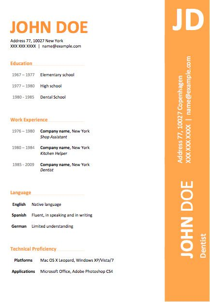 download free resume a resume template powerful formats best