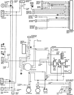 free wiring diagram 1991 gmc sierra | wiring schematic for