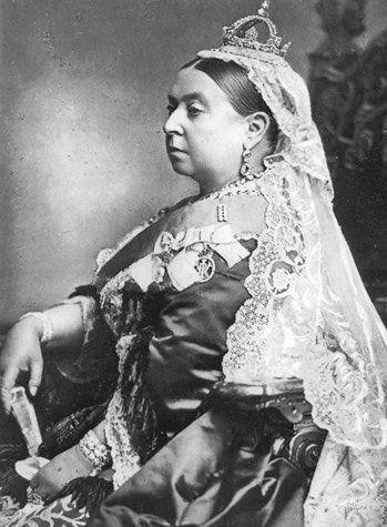 Queen Victoria.: