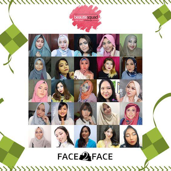 Makeup Lebaran Inspiration, in collaboration with Beautiesquad and Face2Face Makeup