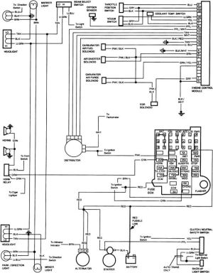 85 Chevy Truck Wiring Diagram | 85 Chevy: other lights