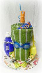 @Mandy Bryant Bryant Stephenson & @Christina Childress & Gruell Livingston Summer Fun Gift Cake:
