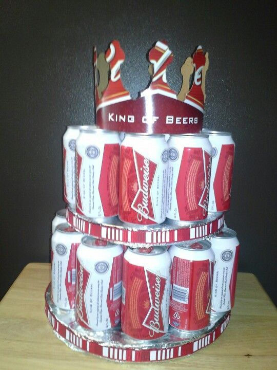 Budweiser Beer Cake I M Gonna Make This For Jamie S