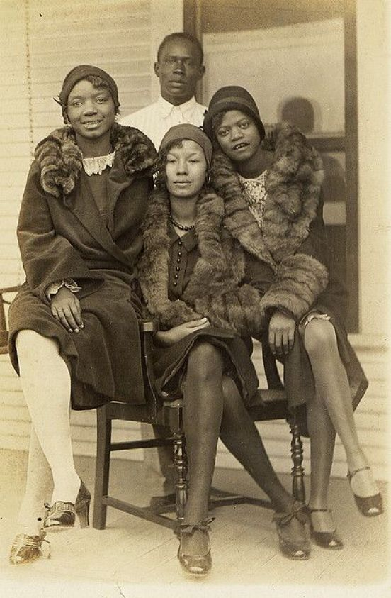 silk stockings and furs 1920s: