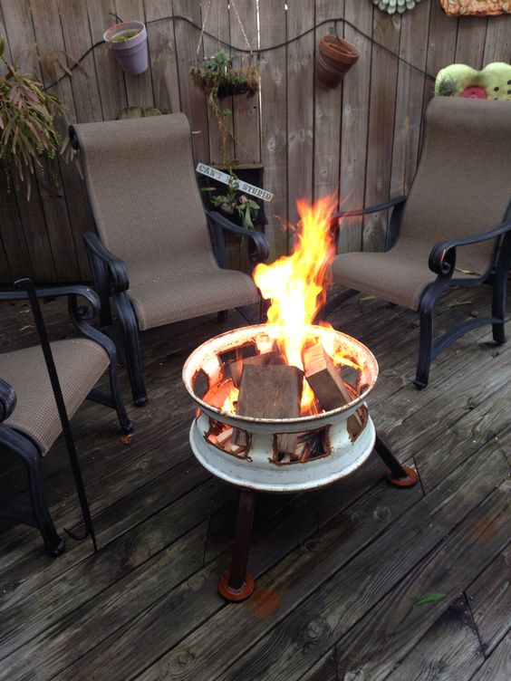 Fire Pits And Fire On Pinterest
