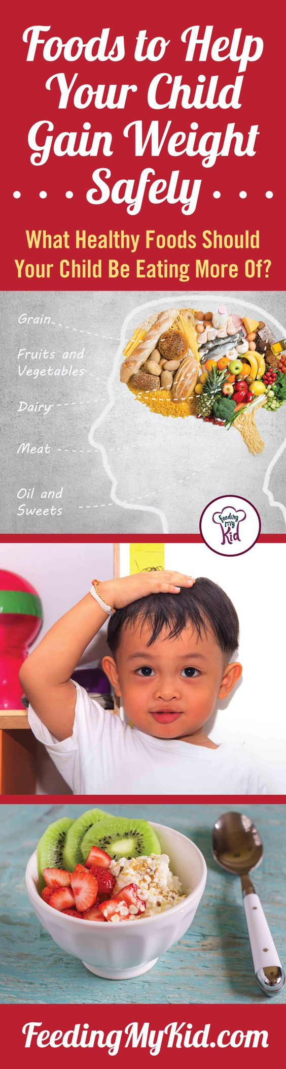 Underweight Children? Find Foods to Help Your Kids Gain