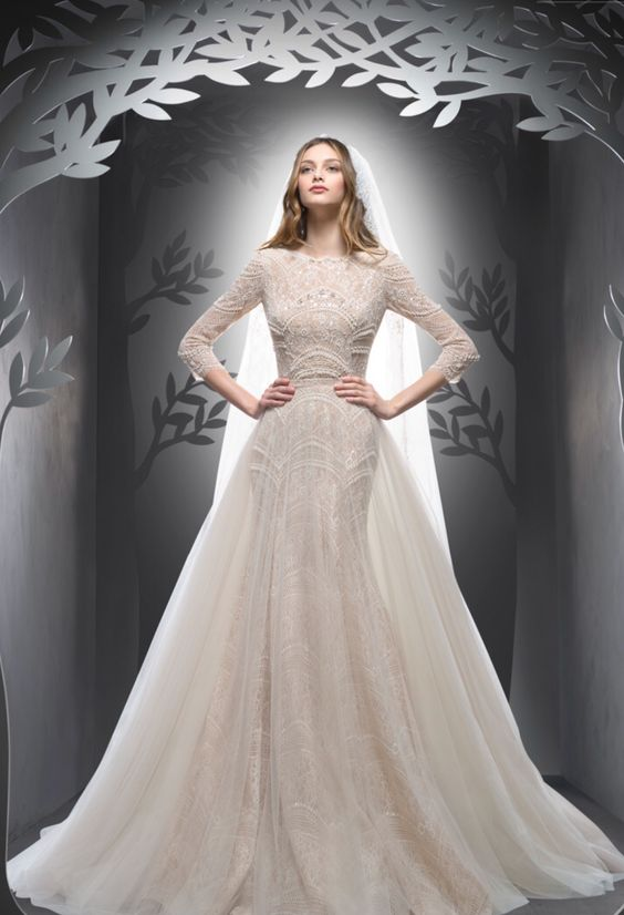 Ersa Atelier Honesty | WEDDING / FALL 2016 CONTEMPORARY PRINCESS DIORAMA: