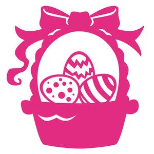 Download Silhouette, Easter baskets and Design on Pinterest