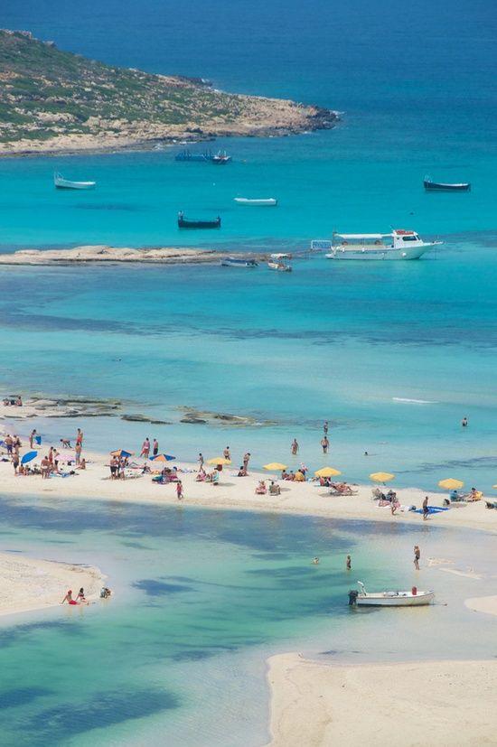 Balos Bay, Gramvousa, Crete: