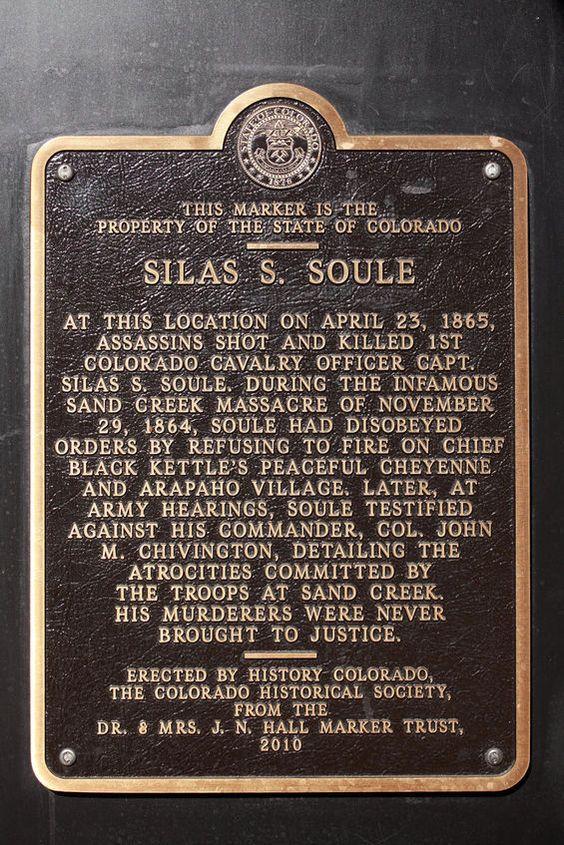 Silas Soule Marker The Junk Drawer Pinterest Sands