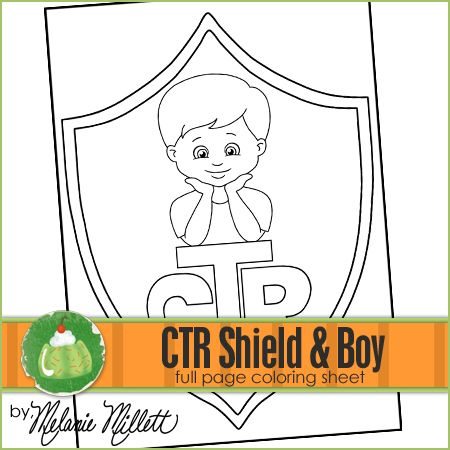 ctr shield boy printable and coloring pages on pinterest