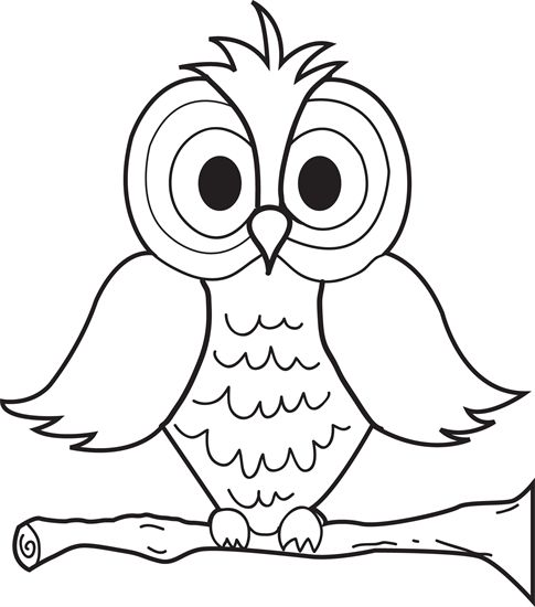 owl coloring pages cartoon owls coloring pages for kids coloring pages