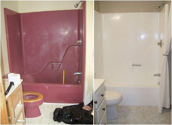 Re Enameling A Bathtub W Rustoleums Tub And Tile Enamel