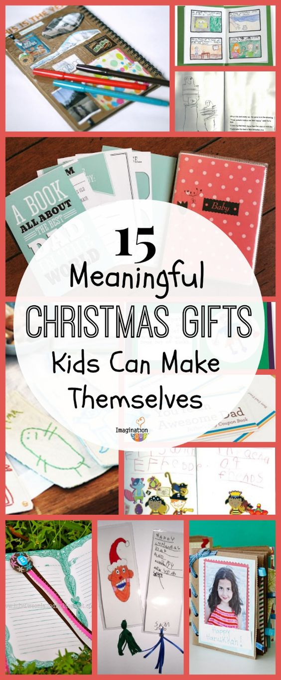 15 Meaningful Homemade Gifts Kids Can Make Traditional