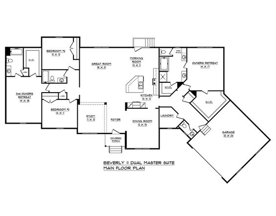 Schumacher Homes: Floorplans