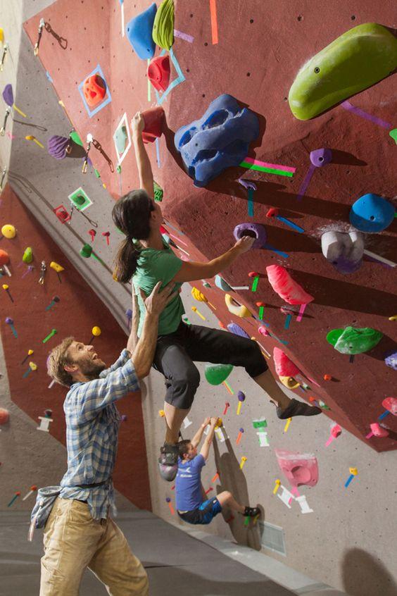 Rock climbing - allenarsi con il partner