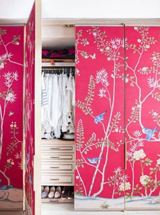 wallpaper to create a feature wall