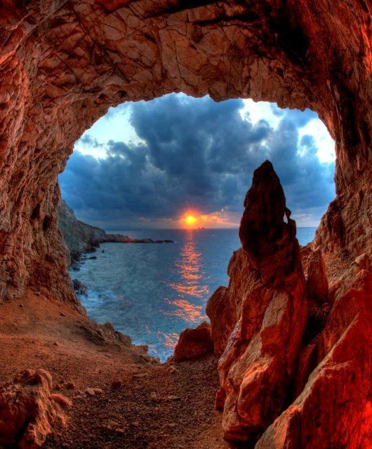 Image result for secret cave above the clouds