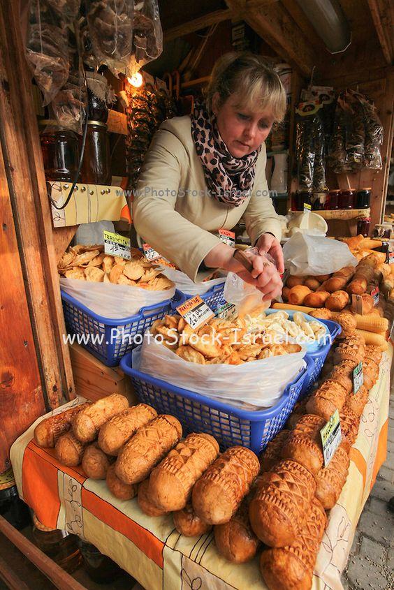 Cheese market, Zakopane, Poland Farms & Food Markets