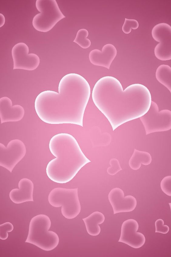 Heart Wallpaper Pink Hearts And Wallpapers On Pinterest