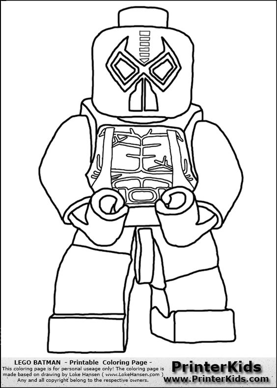 pages for batman s villians lego lego batman bane printable coloring