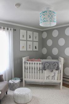 gender-neutral elephant nursery: