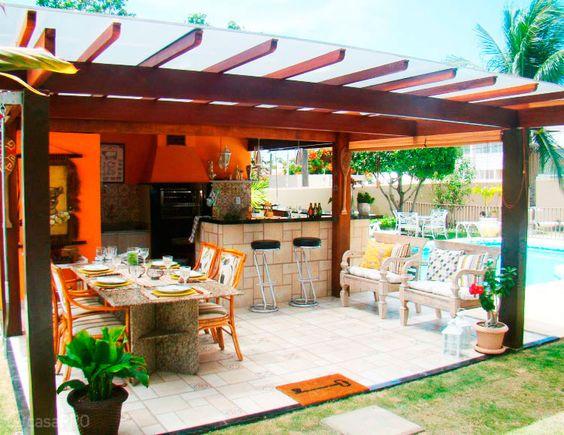 35 pergolados projetados por profissionais do CasaPRO - Casa: