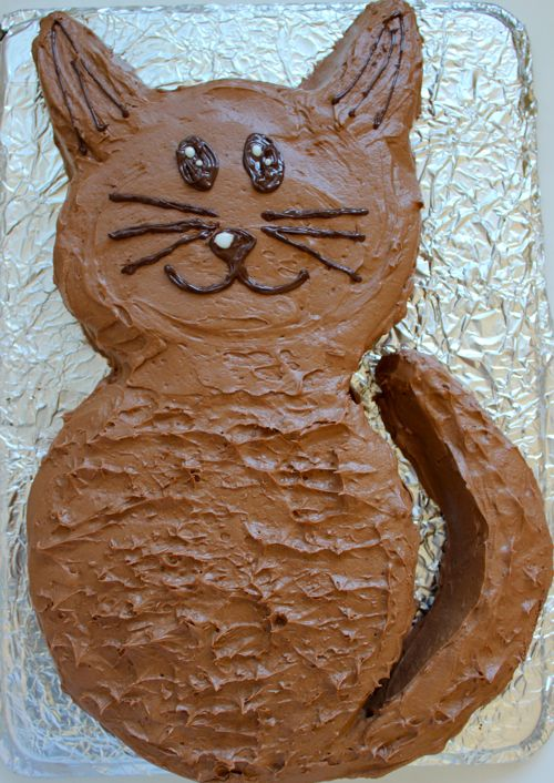 Easy Cat Cake Learn To Make An Cool Cat Shaped Cake Easy