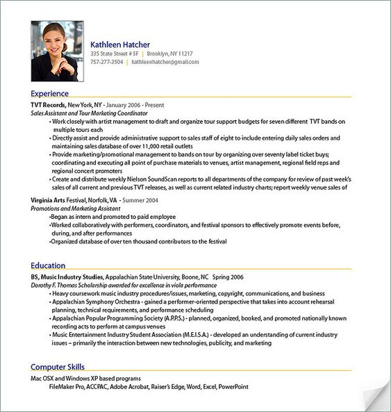 resume writing samples education background in resume sample