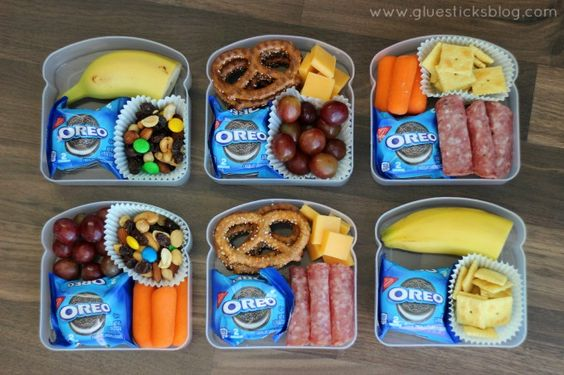 Road Trip and On The Go Snack Ideas for Kids