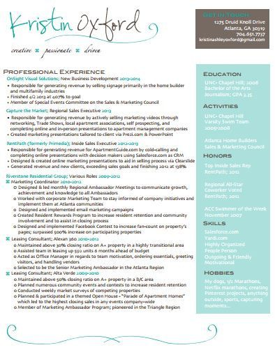 resume resume templates and templates on pinterest