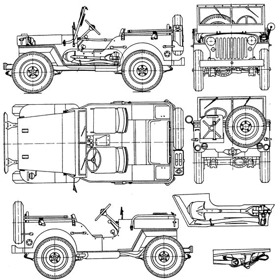 jeep willys mb coloring page jeep coloring book pinterest