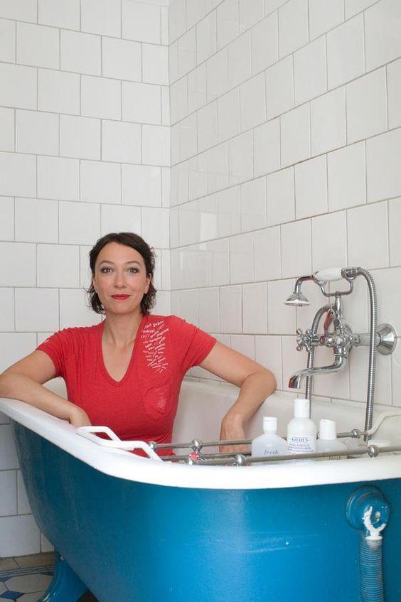 In A Bathtub Ursula Strauss Pinterest Bathtubs