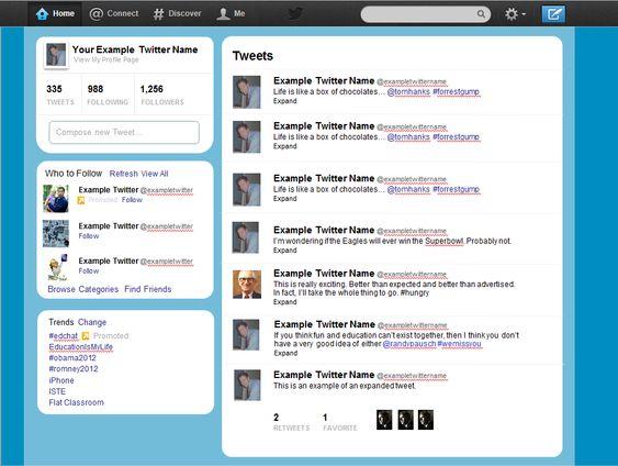 Twitter Templates twitter template beepmunk twitter template