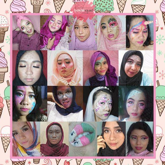Beautiesquad - Ice Cream Makeup Collaboration