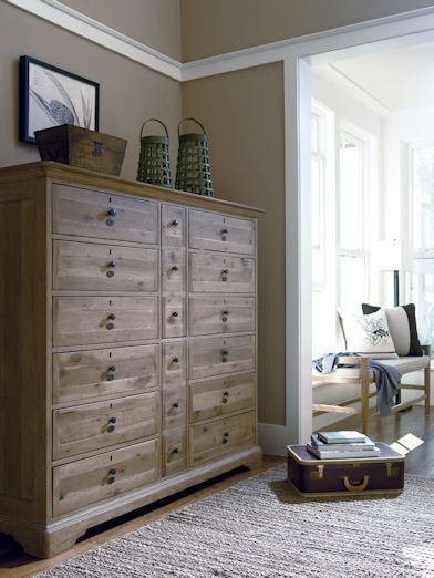 love this chest. 12 drawers will take care of my clothes storage problems!: